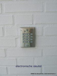 Elektronische toegang