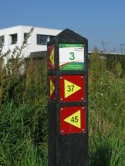 B&B De Beverhoek, gelegen aan de wandelknooppuntroute Leudal